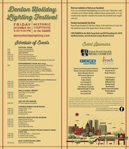 Denton Tree Lighting Program