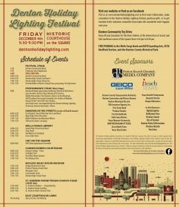 Denton Tree Lighting Program